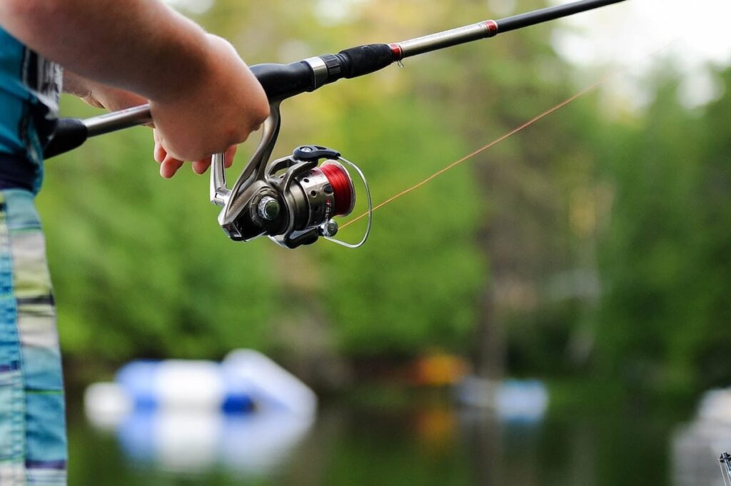 Aktiviteter med børn - fisketur