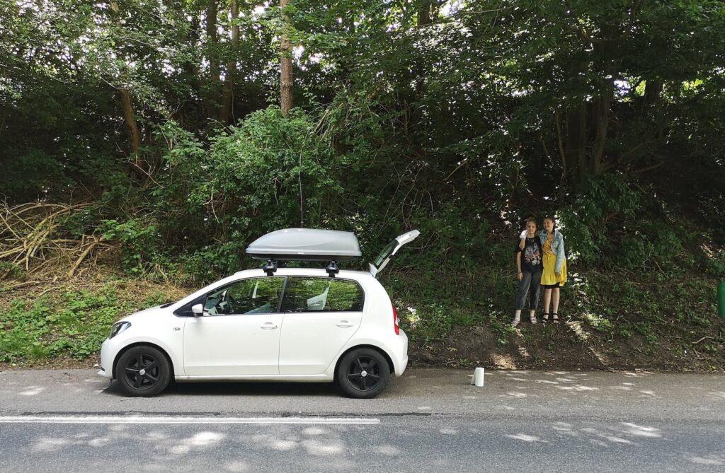 Kør selv ferie i Danmark med børn, bybil og tagboks