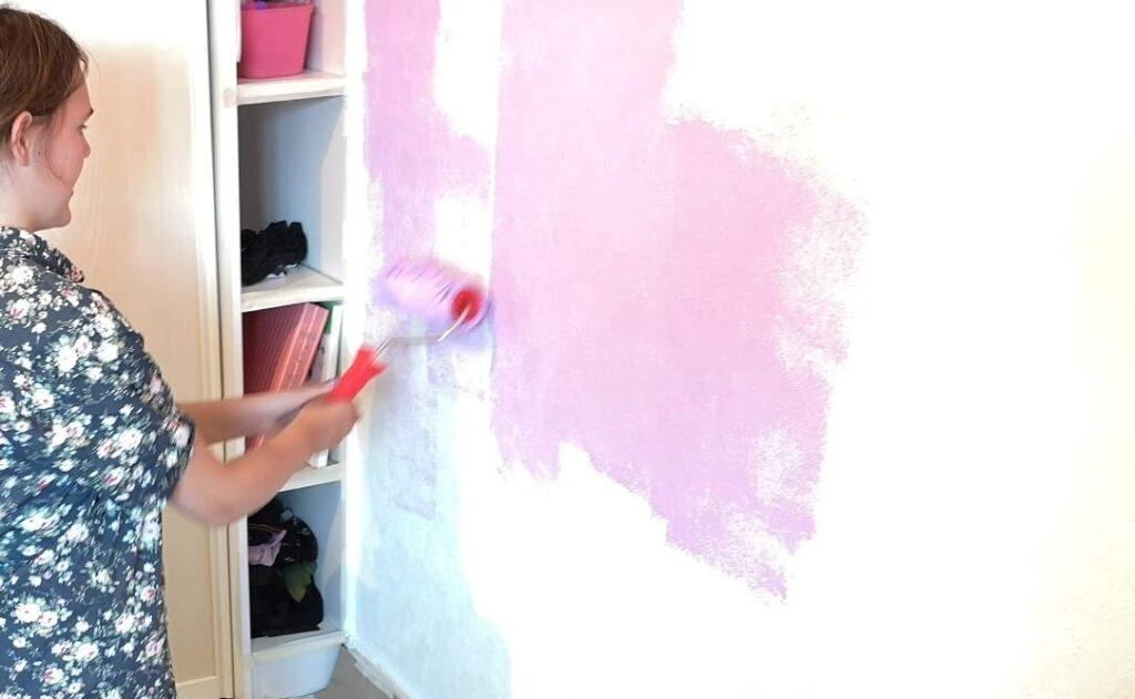 Mal en væg - indendørs aktiviteter med børn